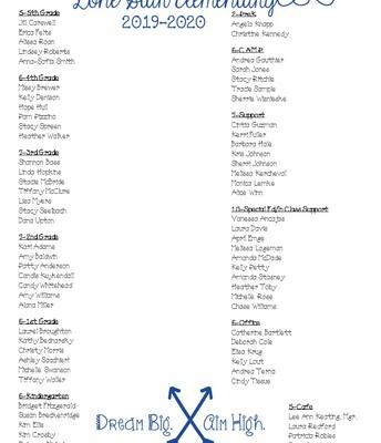 19-20 Staff Roster