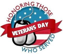 VETERANS DAY CELEBRATION NOVEMBER 8