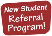 New BMS Student Referral Program!
