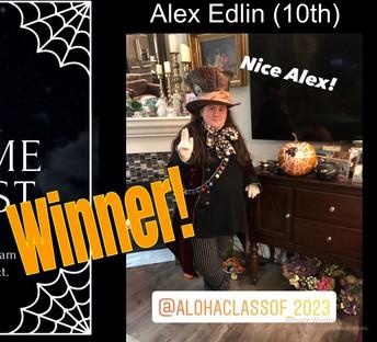 Costume Winner - Alex Edlin