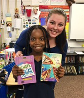 5th Grader Connects with Favorite Author