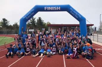 "Marathon Club at the ""Finish Line"""