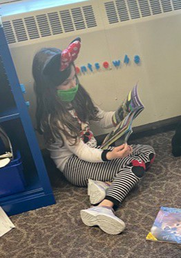 Grade 1 Goes on a Reading Adventure