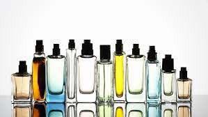 11 fragrance bottles