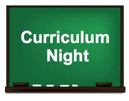 Curriculum Nights: