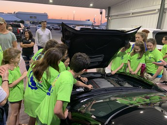 YOUNG ENGINEERS SOCIETY VISITS LOCAL CAR DEALERSHIP