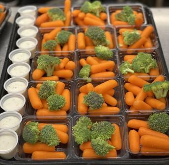 Fresh Carrots and Brocoli