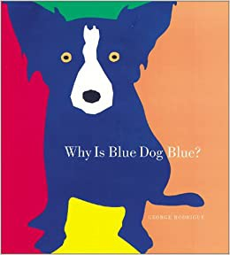 """Monday Evening Art Lesson      6:30-7:30-Learn to draw """"Blue Dog"""" by artist and illustrator George Rodrigue"""