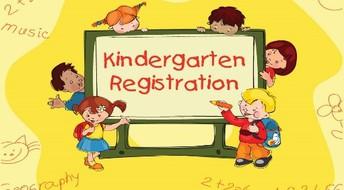 Kindergarten Registration for siblings of existing students