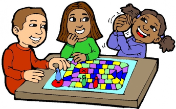 Family Winter Warm up night  Games
