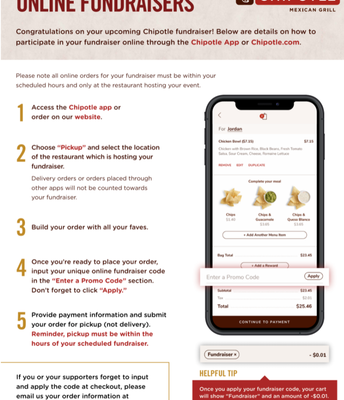 Ordering from your Smartphone...