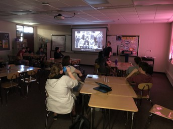 Public Speaking class discusses famous speeches from history