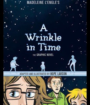 #5 A Wrinkle in Time: the Graphic Novel by Madeleine L'Engle and Hope Larson