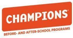 CHAMPIONS' AFTER SCHOOL PROGRAM WILL START MONDAY, APRIL 12TH