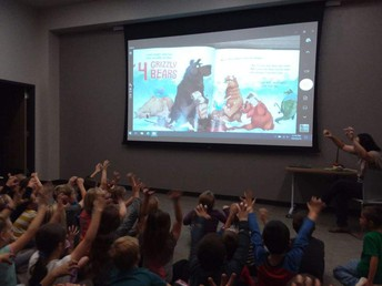 1st Graders Visit the Library