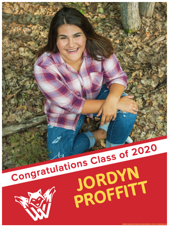 FOR YOU: Class of 2020 Yard Signs