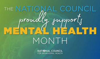 National Council Proudly Supports Mental Health Month
