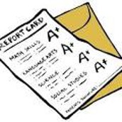 Report Cards Go Home Today! PLEASE SIGN AND RETURN ON WEDNESDAY. THANKS!