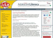 Research and Reports on Learning Disabilities