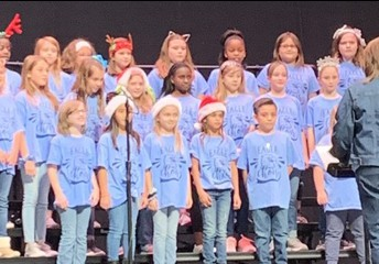 Eagle Choir Performs at Toys for Tots
