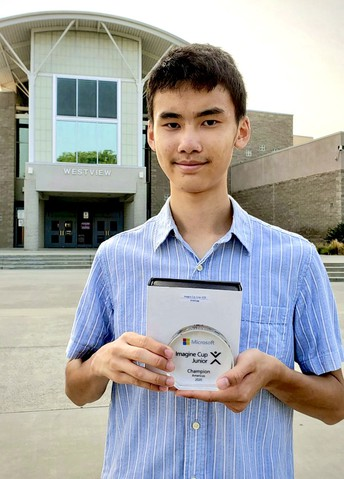 WVHS Student Honored for AI Project
