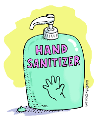 Wash your hands/hand sanitize frequently