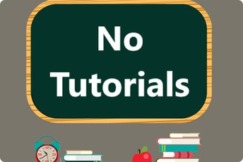 No Tutorials - Friday, December 18th