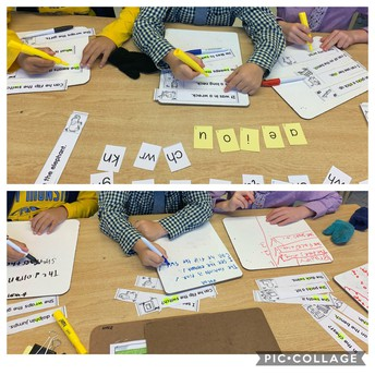 Cracking the code:  building words with letters and sounds