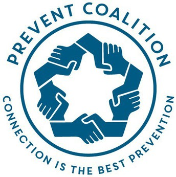 Prevent Coalition Logo. Connection is the best prevention.