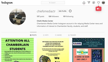 Stay connected to the Mighty Chiefs Media Center during eLearning