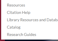 Finding our Library Catalog