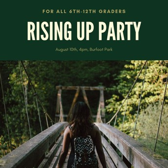 Rising Up Party for Middle and High School Youth