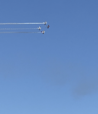 Plane Flyover