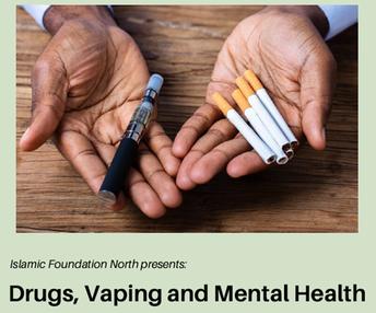 Drugs, Vaping and Mental Health Presentation at IFN