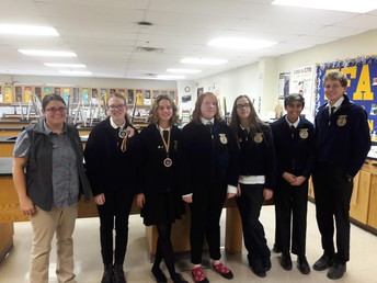 FFA District Competition