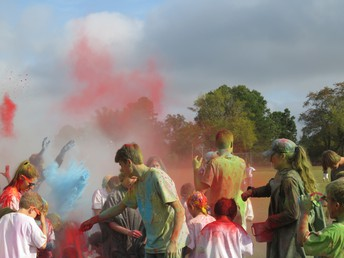 Lil' Cat Color Run