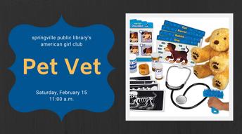Pet Vet / American Girl Club