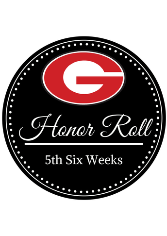 5th Six Weeks Honor Roll!