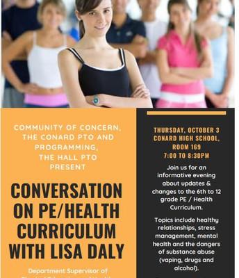 Conversation on Health/ PE