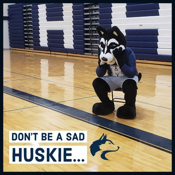 Don't be a Sad Huskie...