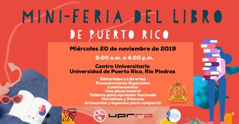MINI-FERIA DEL LIBRO DE PUERTO RICO 2019