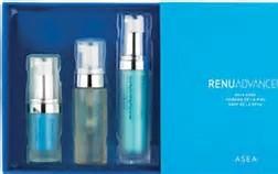Prova på hudvårdsserien med redox -teknologi