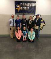 Elks Students of the Month (April)