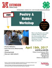 Dakota County - Poultry & Rabbit Workshop