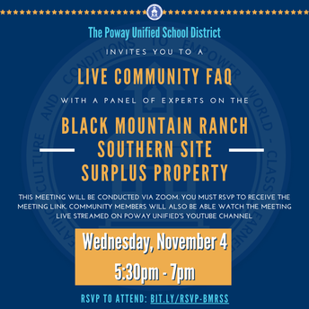 Black Mountain Ranch Southern Site Community FAQ