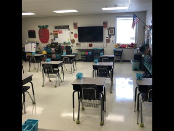 A snapshot of our classroom!