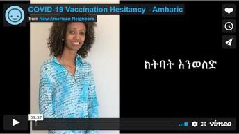 COVID-19 Vaccination Hesitancy