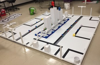 Botball Robotics Competition Practice at NHS