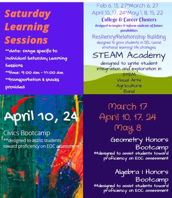 Saturday Bootcamps & STEAM Academy