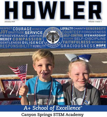 Check out the latest Howler!